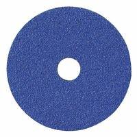 Bluefire F826P Coated-Fiber Discs, Ceramic/Zirconia Alumina, 5 in Dia., 36 Grit - 25 Each
