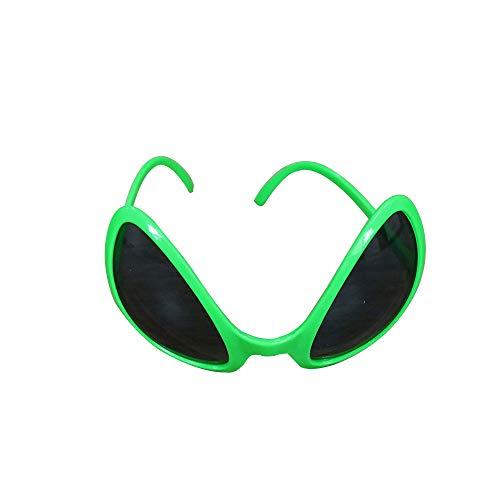 Green Plastic Alien Sunglasses Party Favors