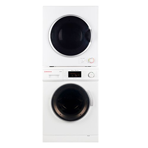 Deco Washer and Compact Standard Dryer Set (Washers Dryer Set)