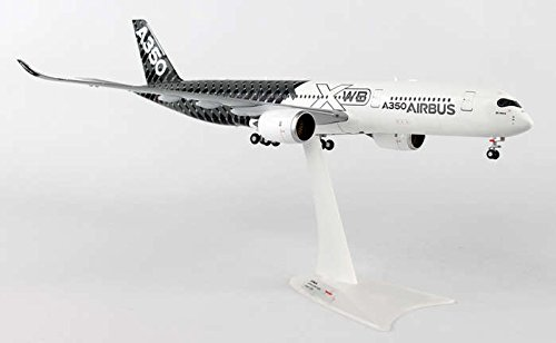 House Airbus (Herpa 200 Scale Commercial-Private HE557344 1-200 Airbus House A350xwb Carbon REG No. F-WWCF)
