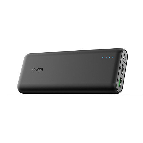 Anker PowerCore 20000 with Quick Charge 3.0, 20000mAh Power Pack Portable Charger with Qualcomm Quick Charge 3.0,...