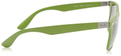 Ray-Ban mens 0RB4195 601S9A52 Polarized Tech Liteforce Wayfarer Sunglasses