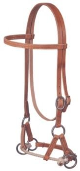 (Weaver Leather Harness Leather Single Rope Side Pull)
