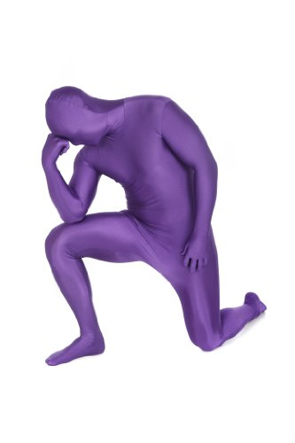 Original Morphsuit Fancy Dress Costume ,Purple, XX-Large (Fancy Dress Costume)