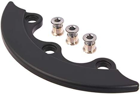 KHEbikes KHE Q1 12 - Protector de Plato de Aluminio para Bicicleta ...