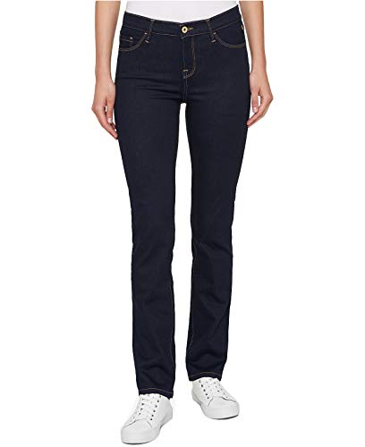 Tommy Hilfiger Womens Mid-Rise Denim Bootcut Jeans Blue - Tommy Hilfiger Jeans Ladies