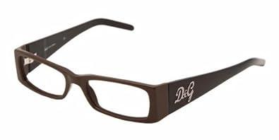 0bb14f3ff1e Amazon.com  D g By Dolce   Gabbana Women s 1147 Dark Brown Frame ...
