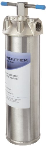 Pentek 156017-02 ST-1 3/4'' Stainless Steel Filter Housing by Pentek