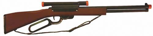 Airsoft Repeater - Western Repeater Rifle, Wood & Steel, Shoots Plastic Balls,Bulk