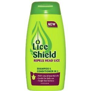 SHAMPOO/CHAMPU Y ACONDICIONADOR PROTECTOR DE PIOJOS 10 ONZ - Lice Shield Shampoo & Conditioner 10 Onz by LICE SHIELD