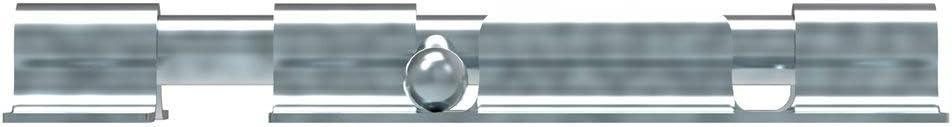 Galvanizado Atornillar Longitud: 100 mm Perno de puerta Fenau