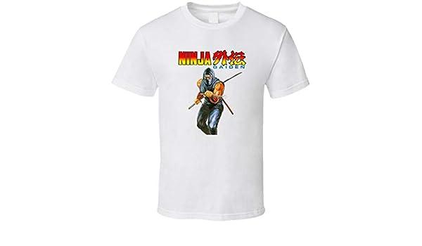 Ninja Gaiden NES Box Art Retro Video Game T Shirt | Amazon.com