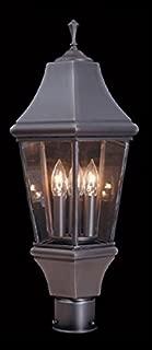 product image for Framburg 8741 IRON 3-Light Normandy Exterior Post Mount, Iron