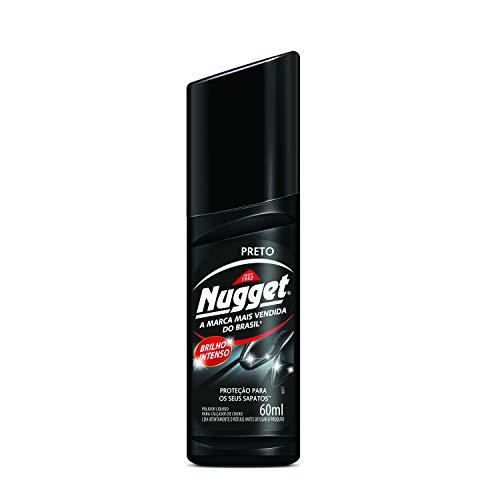 Líquido Para Calçados Pretos, Nugget, 60 ml