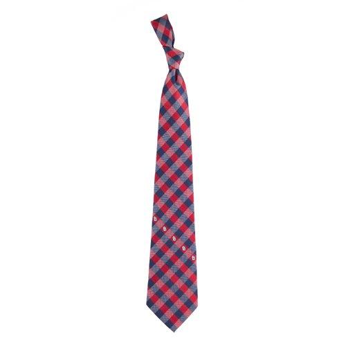 St Louis Cardinals Check Poly Necktie