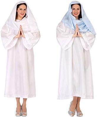 Atosa-46010 Atosa-46010-Disfraz Virgen Mujer Adulto-Talla Navidad ...
