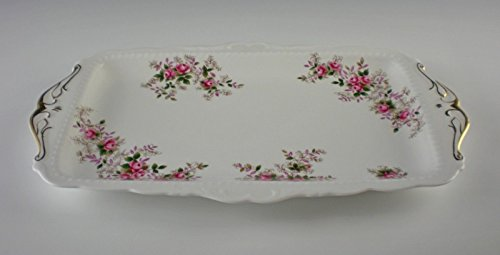 (Royal Albert LAVENDER ROSE Large Sandwich Tray)