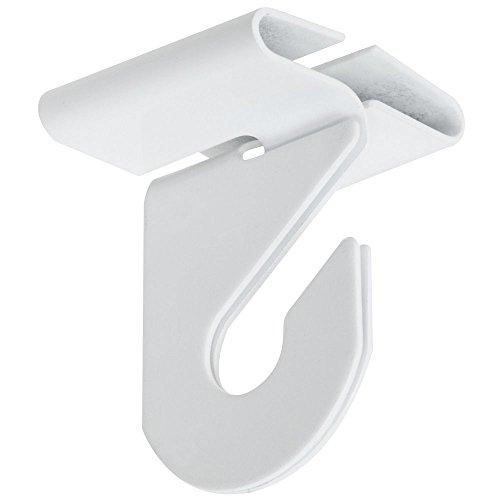 - National Hardware N274-969 V2669 Suspended Ceiling Hooks in White, 2 pack