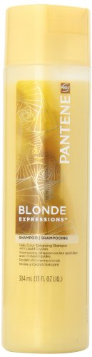 Pantene Pro-V Blonde Expressions Daily Color Enhancing Shampoo With Liquid Crystals 13 Oz (Pack of 3)