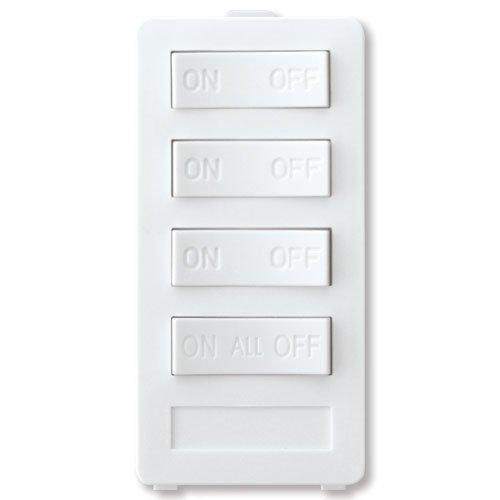 X10 PRO XP4A-W 4 button keypad, White, 3 -