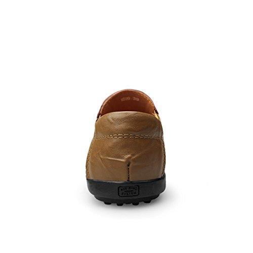 39 LH1599A Größe Minitoo Braun Mokkasins Herren Khaki LHEU 6Zww1vq0