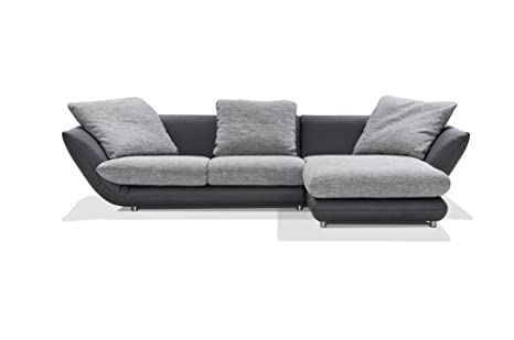ArteM sofá Barcelona plástico/Piel sintética Negro: Amazon ...