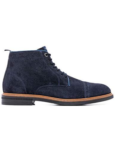 l'homme Bottine Bleu Boot Axel Pepe Jeans xTwCF