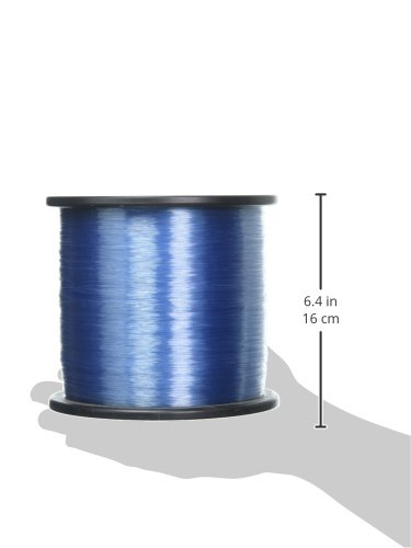 ANDE Back Country Monofilament Line with 30-Pound Test, Blue, 2-Pound Spool (3200-yards) by ANDE