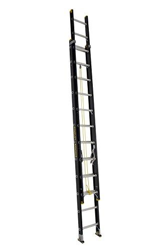 Stanley FatMax SXL3020-24 Fiberglass Extension Ladder 24-Foot 300-Pound Load Capacity
