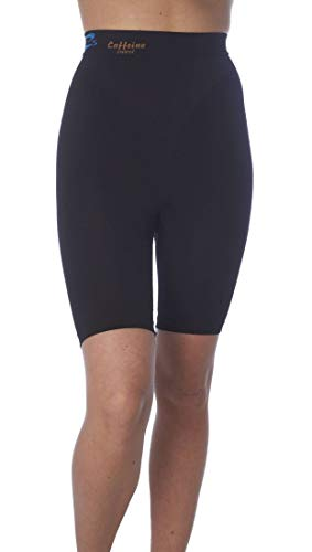 Anti Cellulite Slimming Short Pants with Caffeine microcapsules - Black Size L