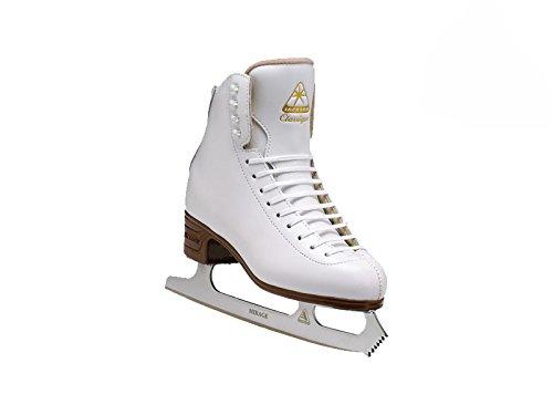 Jackson Ultima Classique JS1990 White Womens Ice Skates, Width C, Size 5.5