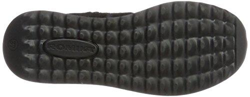 100 Zapatillas Mujer Romika Victoria 08 para Altas Schwarz 100 Negro qfn8HwOn