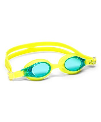 Glow in the Dark Swim Goggles (Yellow, - The Dark Lenses Glow In