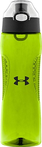 Under Armour Elevate 22 Ounce Tritan Bottle with Flip Top, Hyper Green