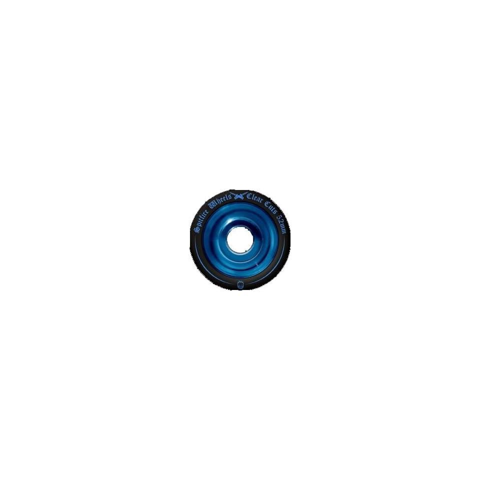 Spitfire Clearcut Wheels Black/Blue 54mm Sports