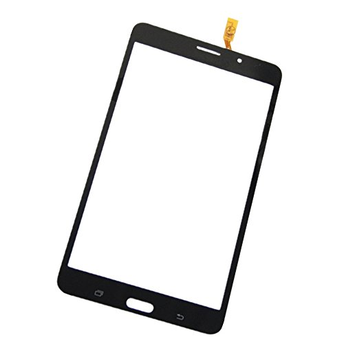 Topscreen2012(TM) Touch Screen Glass Digitizer Lens for Samsung Galaxy Tab 4 7.0 SM-T231 T231 3G Ver Tablet Black (No LCD Display screen)~Replacement Repair Broken Damaged Faulty Parts (Black) by Topscreen2012(TM)