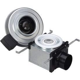 Fantech Bath Fan PB110L10, 120V, 1 PH, 110 CFM, 10W LED Light, 4