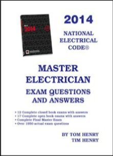 2014 Master Electrician Exam Questions & Answers
