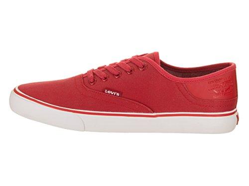 Levis Mens Monterey Core Casual Chaussure Rouge / Blanc