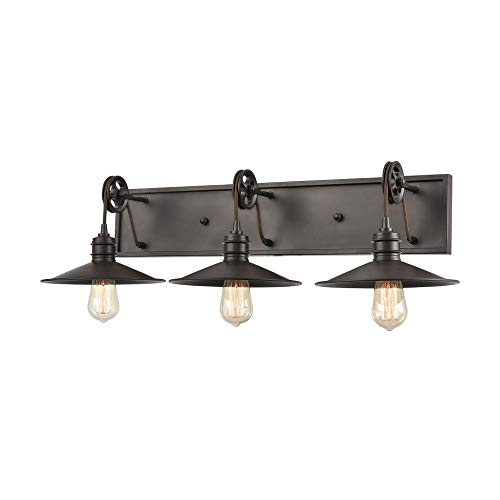 Elk Lighting 69086/3 Vanity Light Oil Rubbed Bronze ()