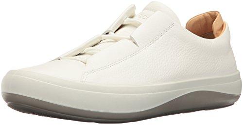 Ecco Heren Kinhin Fashion Sneaker Wit / Veg Tan