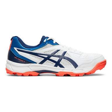Amazon price history for ASICS Men's White/Blue Expanse Cricket Shoes-10 UK (45 EU) (11 US) (P613Y)