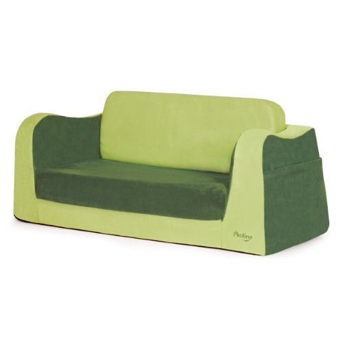 Cheap P'kolino Little Sofa / Sleeper – Green
