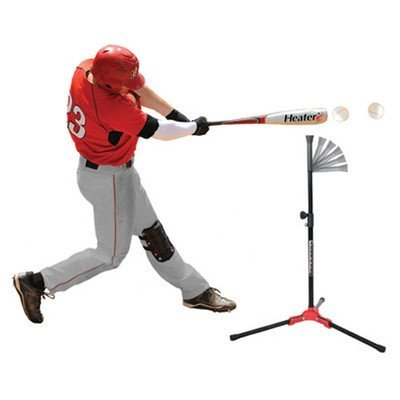 HEATER SPORTS Flop Top Travel Batting Tee For Baseball Batting Tee, Softball Batting Tee, Used By Kids, Teens, and Adults For Travel Tee or Hitting Tee by Heater Sports