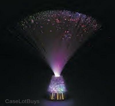 1 X Fiber Optic ~ Crystal Ice ~ Party Light Nightlight Lamp