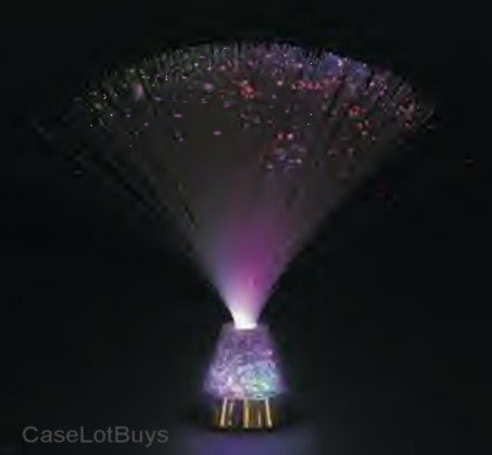 1 X Fiber Optic ~ Crystal Ice ~ Party Light Nightlight Lamp