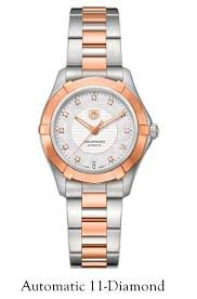 Tag-Heuer-Aquaracer-Mother-of-Pearl-Dial-Stainless-Steel-and-18kt-Rose-Gold-Ladies-Watch-WAP2351BD0838