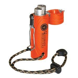 Ultimate Survival Technologies Trekker Stormproof Lighter - Blaze Orange by Ultimate Survival Technologies