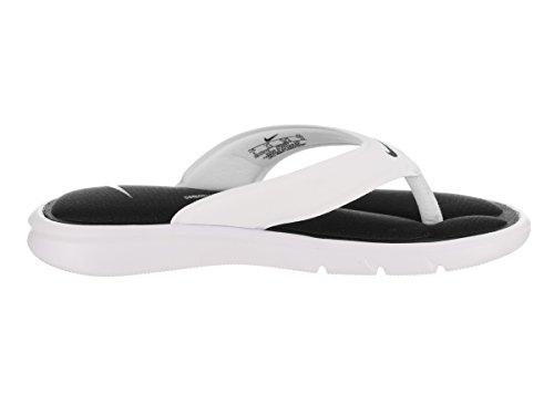 Black Comfort Womens Nike Ultra Sandals Thong White Synthetic aSBxAf