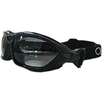 Cycle Clear Tinted Motorcycle Goggles - Protective Riding Goggles For Your Ride - Our Wind Proof Goggles Will Keep You Seeing Clear, Model ZR1